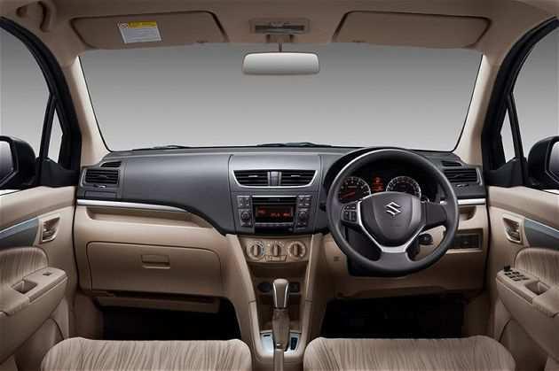 Interior Suzuki New Ertiga