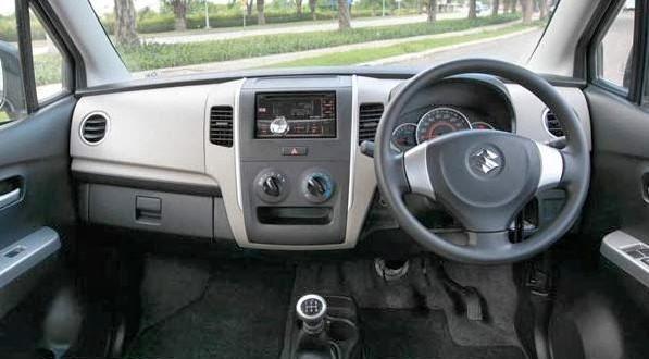 Interior karimun wagon r