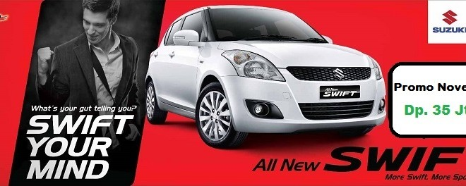 promo suzuki swift november