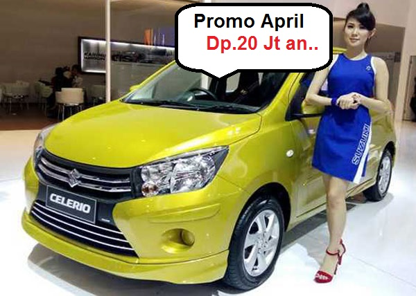 Harga Suzuki Celerio April 2016