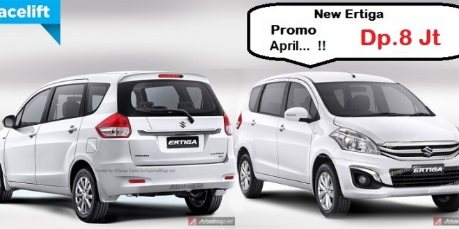 Promo Suzuki Ertiga April 2016