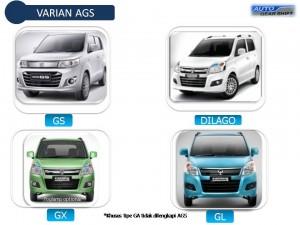 Perbedaan Karimun GA GL GX dan GS