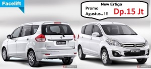 Promo Suzuki Ertiga Agustus 2016