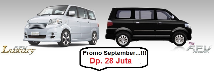 Promo Suzuki APV September 2016