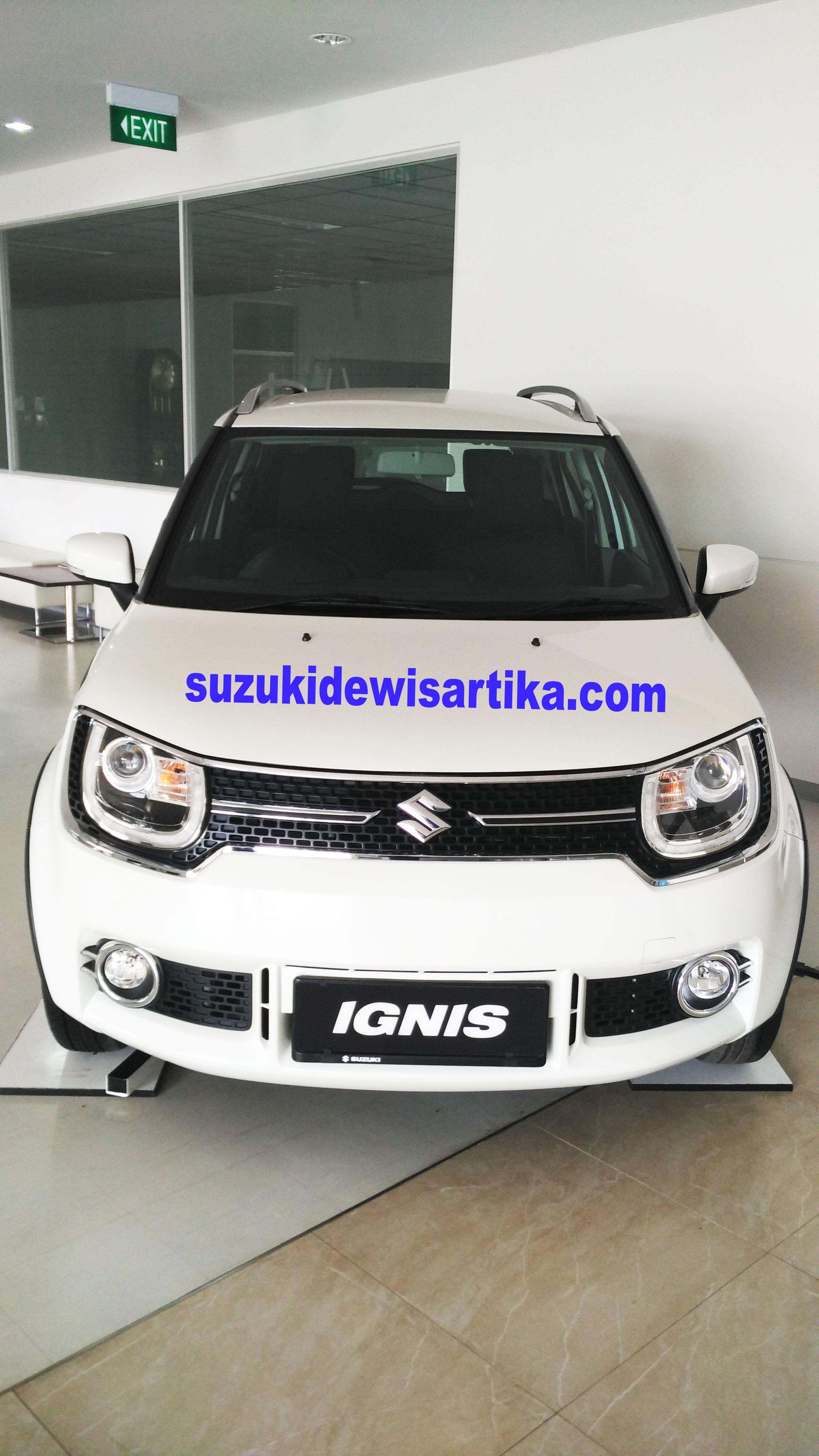 Suzuki Ignis Tampak Depan