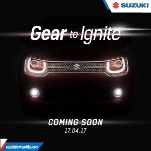 Launching Suzuki Ignis