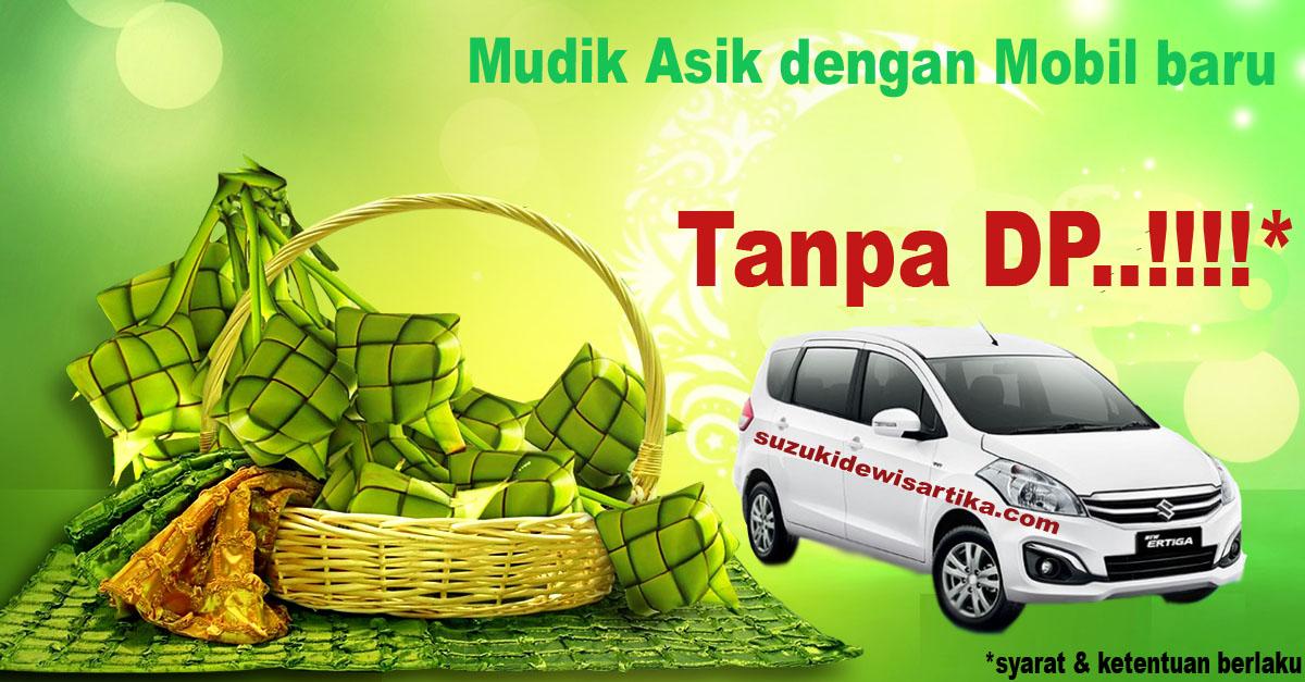 Promo Suzuki Ertiga Lebaran tanpa DP