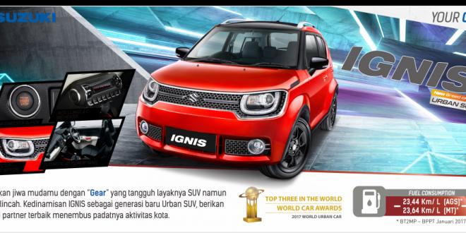Suzuki IGNIS Banner
