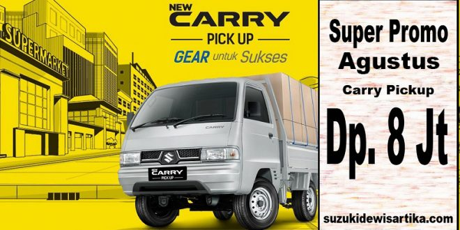 Harga Suzuki Carry Pickup Agustus 2017
