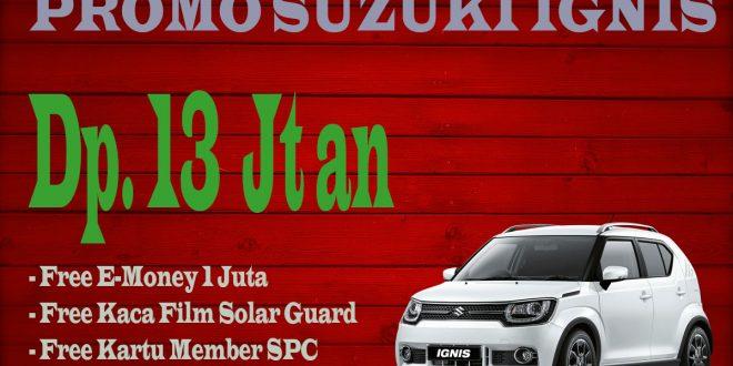 Promo Suzuki Ignis Dp Ringan