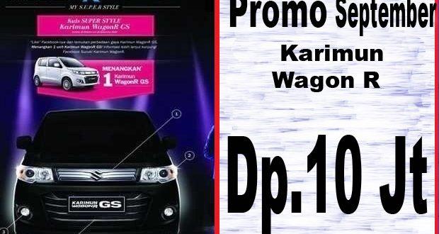 Harga Karimun Wagon R September 2017