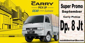 Harga Suzuki Carry Pickup September 2017