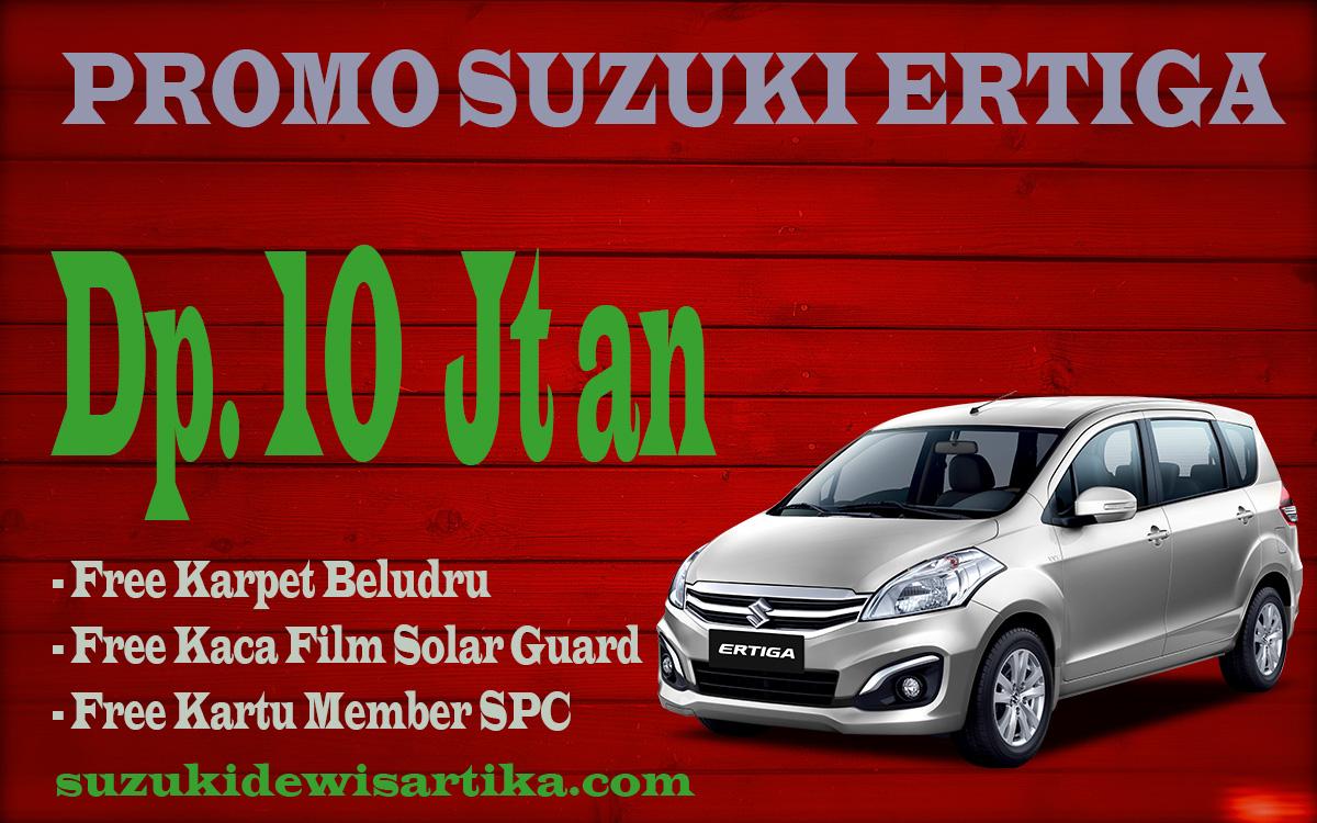Promo Suzuki Ertiga Dp Ringan