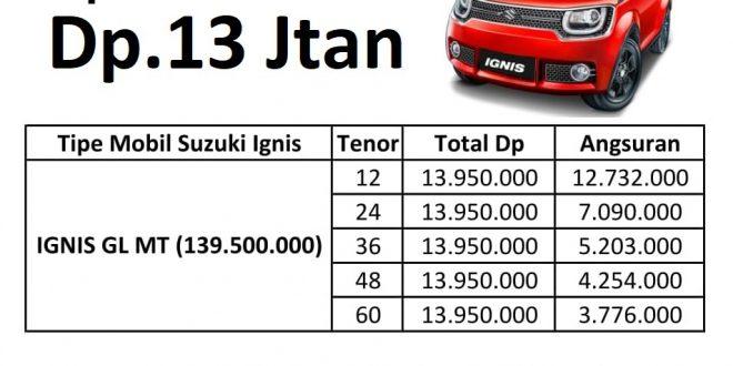 Promo Suzuki Ignis September 2017