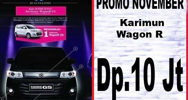 Harga Karimun Wagon R November 2017