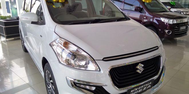 Suzuki New Ertiga Dreza Putih