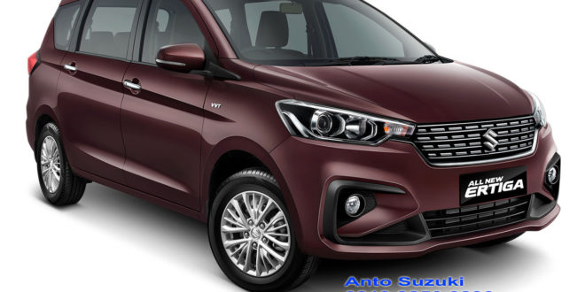 ALL NEW SUZUKI ERTIGA BURGUNDY