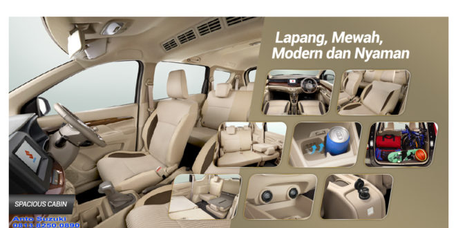 ALL NEW SUZUKI ERTIGA INTERIOR