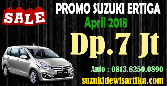HARGA SUZUKI ERTIGA APRIL 2018