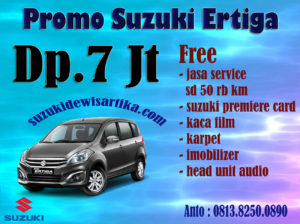 PROMO SUZUKI ERTIGA APRIL 2018