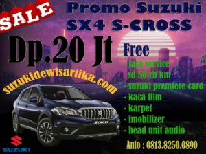 PROMO SUZUKI SX4 S-CROSS APRIL 2018