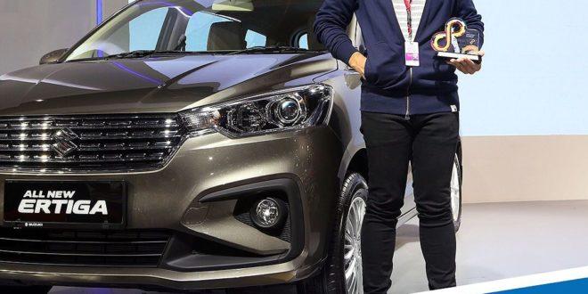 Suzuki All New Ertiga Mobil MPV Terbaik IIMS 2018