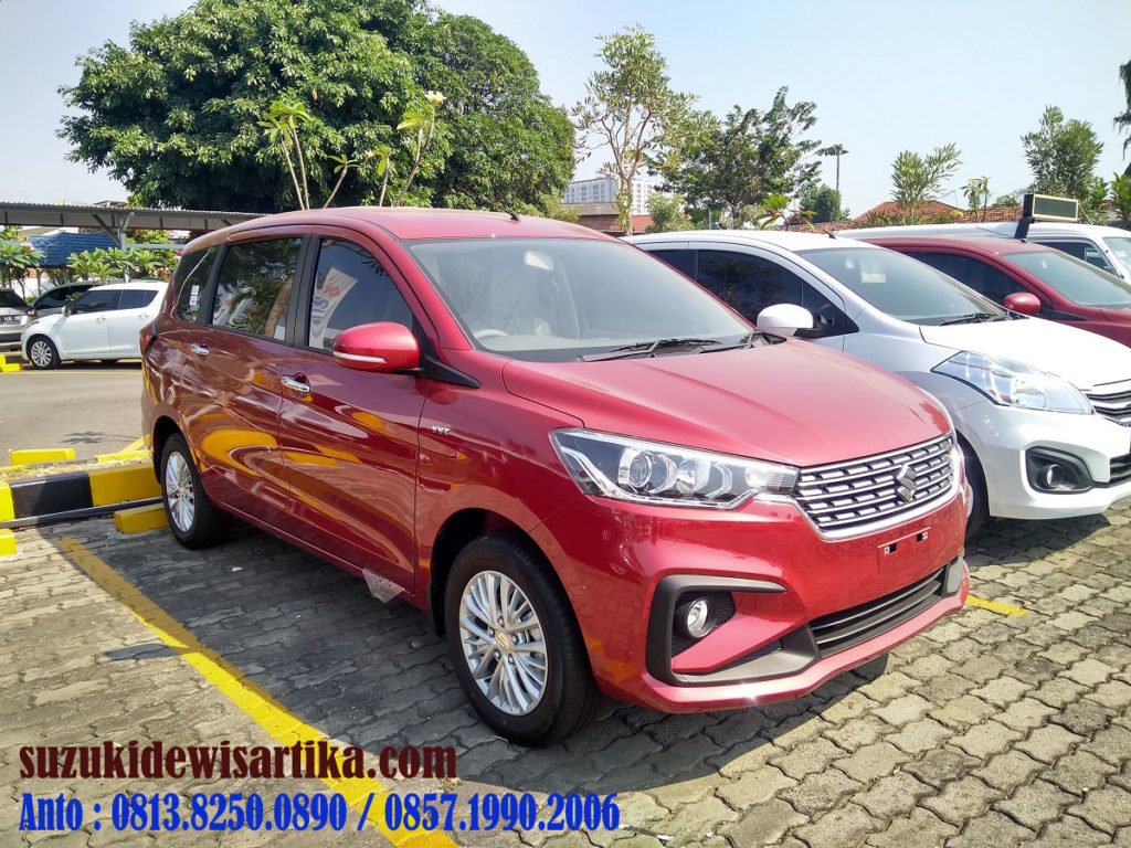 SUZUKI ALL NEW ERTIGA MERAH