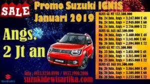 HARGA SUZUKI IGNIS JANUARI 2019