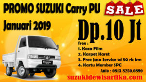 PROMO SUZUKI CARRY PICKUP JANUARI 2019