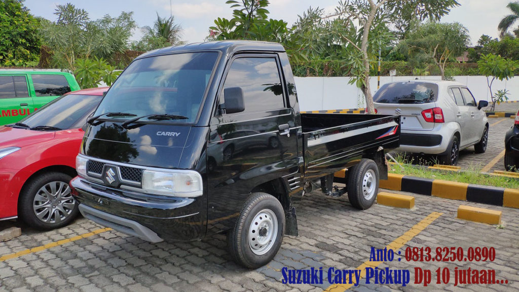 SUZUKI CARRY PICKUP HITAM 2019 HITAM DP 10 JUTA