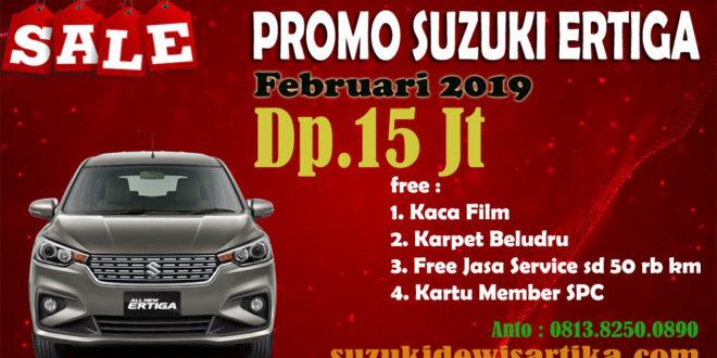 PROMO SUZUKI ALL NEW ERTIGA FEBRUARI 2019