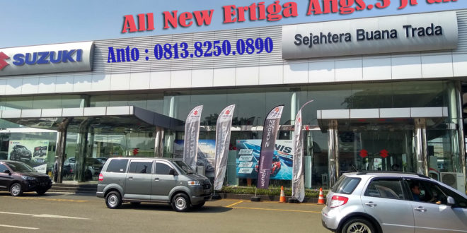 SHOWROOM – DEALER SUZUKI SAWANGAN