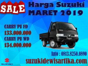 HARGA MOBIL SUZUKI CARRY PICKUP BULAN MARET 2019