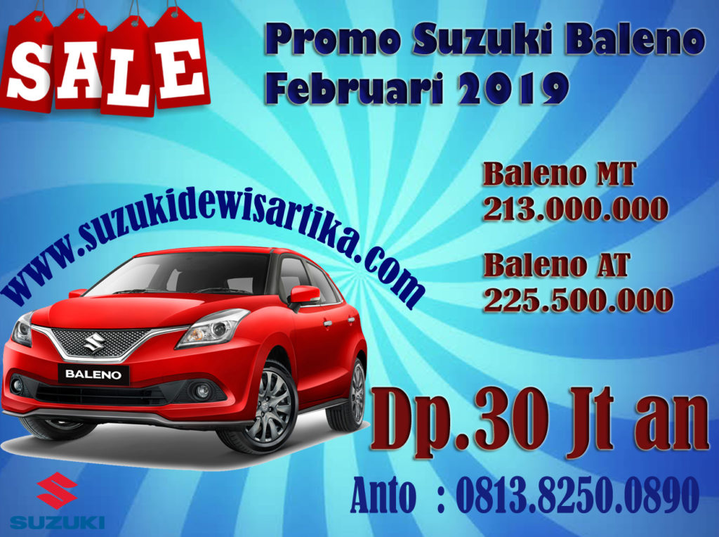 PROMO SUZUKI BALENO FEBRUARI 2019