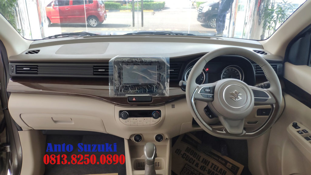 SUZUKI ALL NEW ERTIGA MINOR CHANGE INTERIOR