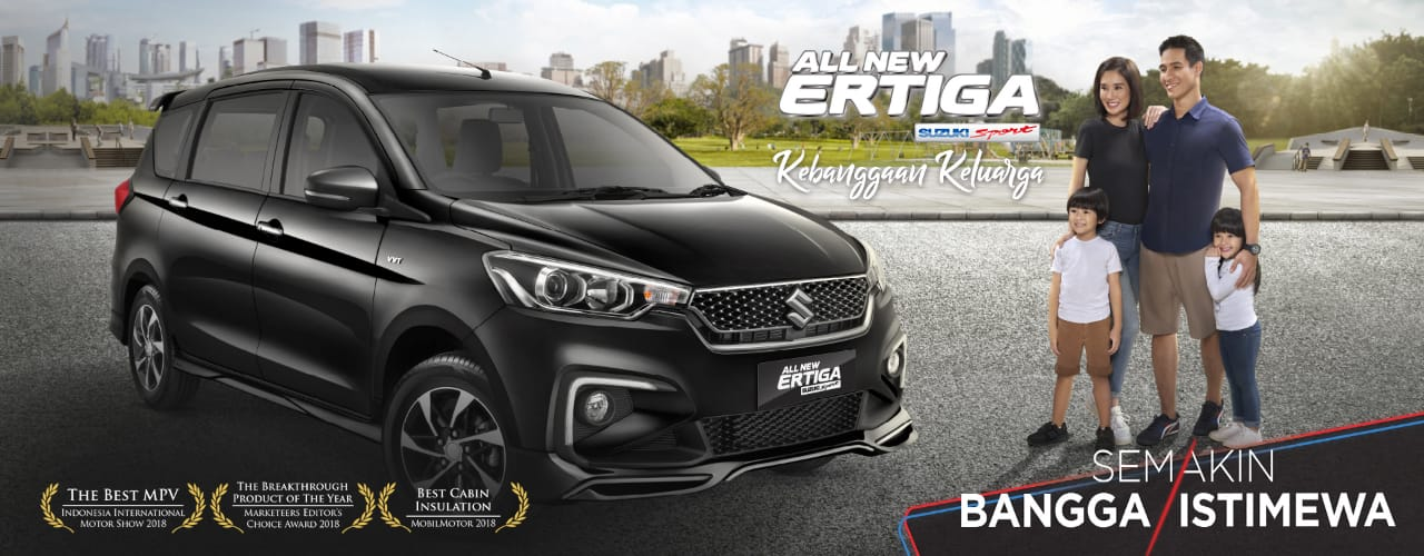 HARGA SUZUKI ERTIGA, Dp. 5 Juta, Promo & Paket Kredit Suzuki Ertiga 2017