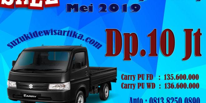 HARGA SUZUKI NEW CARRY PICKUP BULAN MEI 2019