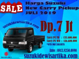 HARGA SUZUKI NEW CARRY PICKUP BULAN JULI 2019