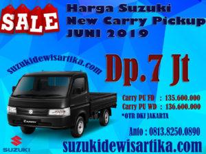 HARGA SUZUKI NEW CARRY PICKUP BULAN JUNI 2019 DKI JAKARTA