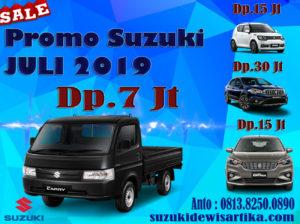 PROMO MOBIL SUZUKI BULAN JULI 2019