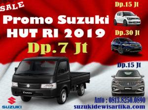 PROMO MOBIL SUZUKI BULAN AGUSTUS 2019