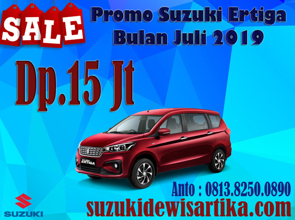 PROMO SUZUKI ALL NEW ERTIGA BULAN JULI 2019