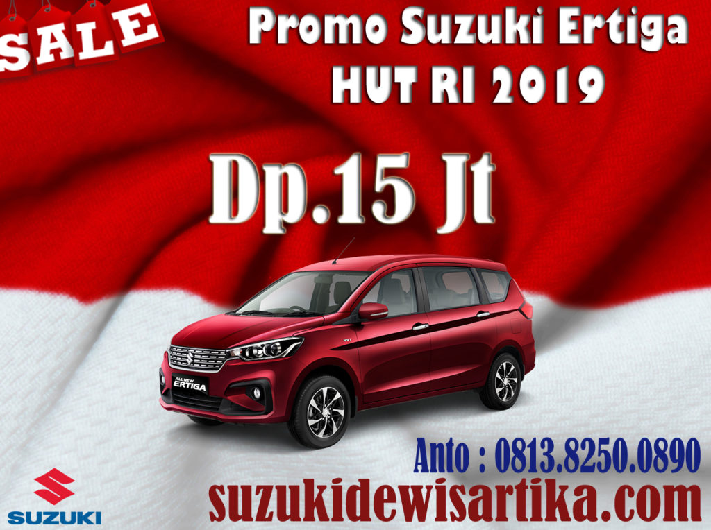 PROMO SUZUKI ALL NEW ERTIGA HUT RI KEMERDEKAAN 2019
