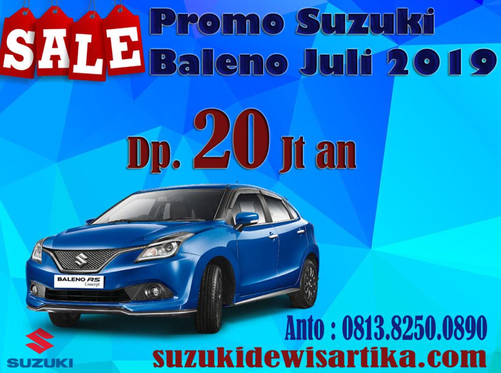 PROMO SUZUKI BALENO BULAN JULI 2019