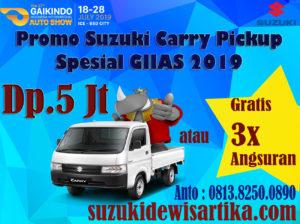 PROMO SUZUKI CARRY PICKUP GIIAS 2019