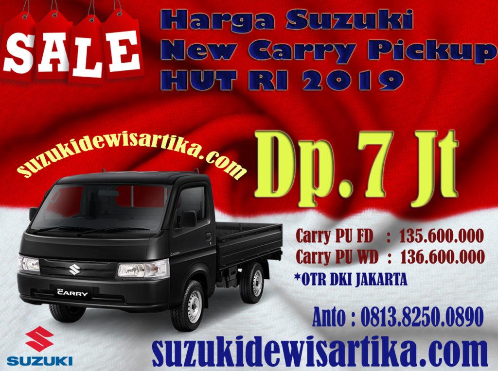HARGA SUZUKI NEW CARRY PICKUP BULAN AGUSTUS 2019