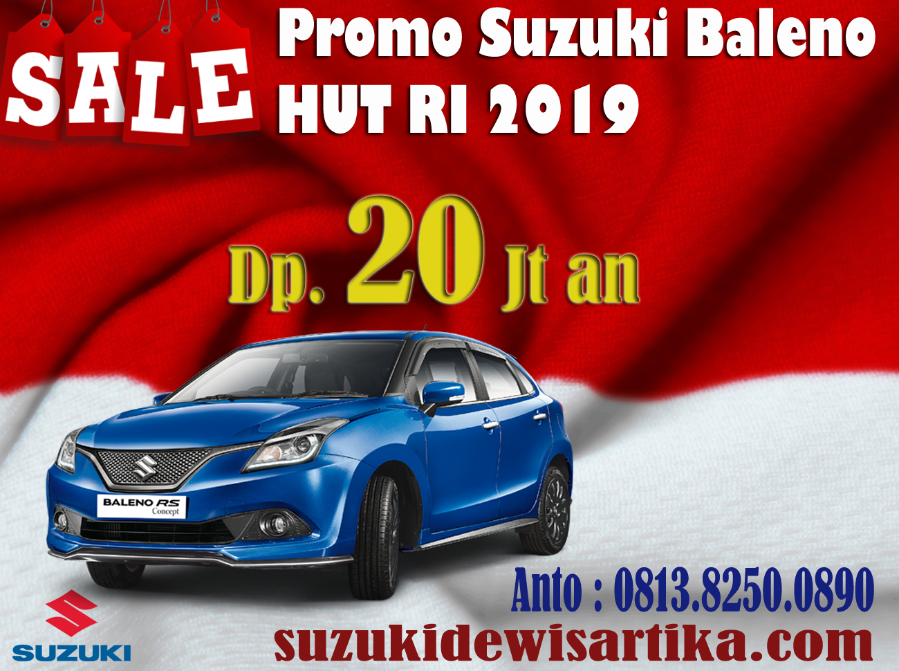 PROMO SUZUKI BALENO BULAN AGUSTUS 2019