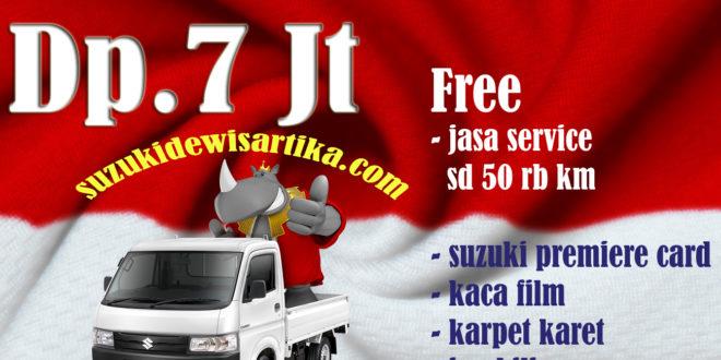 """Promo Uang Muka 7 Juta Suzuki New Carry Pick Up Proses Cepat, Langsung Diantarkan Sampai ke Kantor Anda.<span class=""""rating-result after_title mr-filter rating-result-2322"""" ><span class=""""no-rating-results-text"""">No ratings yet.</span></span>"""