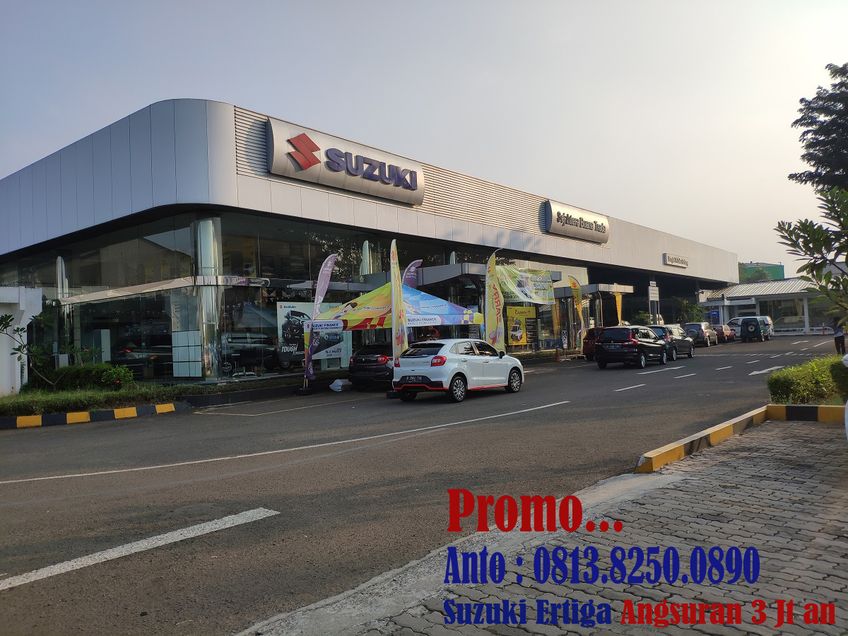 DEALER – SHOWROOM MOBIL SUZUKI PONTIANAK