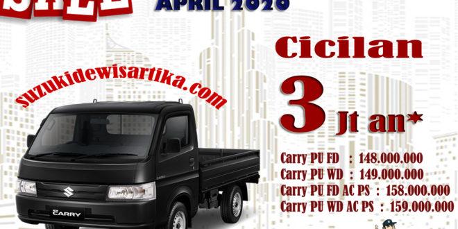 HARGA SUZUKI NEW CARRY PICKUP WILAYAH BANDUNG BULAN APRIL 2020